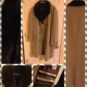 Other - Mens trench coat